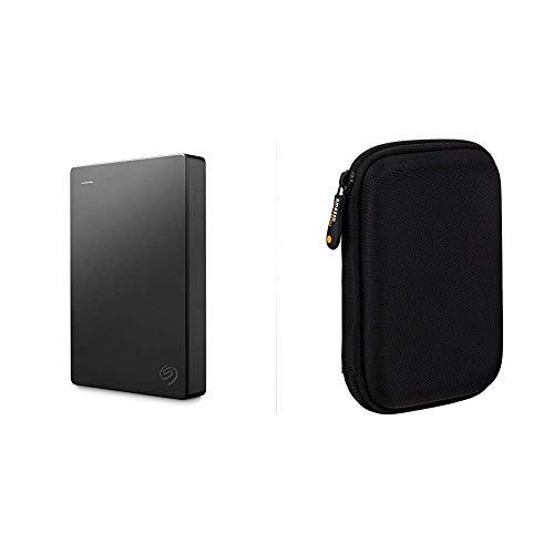 Seagate Expansion Amazon Special Edition 4 TB Externe tragbare Festplatte 635 cm 25 Zoll Amazon Basics Schutzhulle fur Externe Festplatten