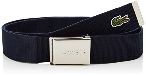 Lacoste RC2012 Cinturón, Marine, 130 cm para Hombre
