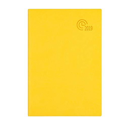 Plan 2019 (Abril de 2019 a Junio de 2020) 21.2cm * 14.8cm Plan semanal mensual Calendario Calendario Cuaderno de planificación (Color : Blanco)