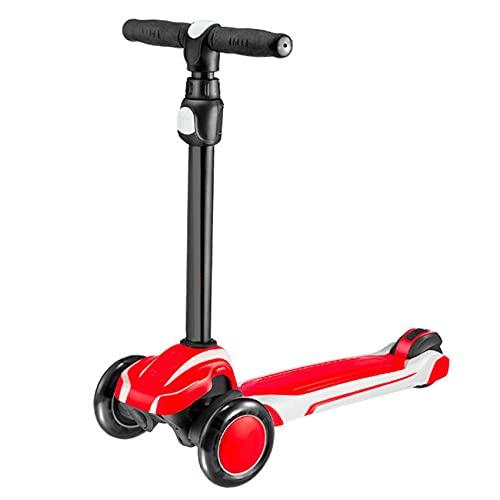 Serrale Scooter para Niños Ajustable, Amortiguador De Pie para Bebé, Triciclo, Bicicleta De Equilibrio, Juguetes para Niños De 2 A 12 Años