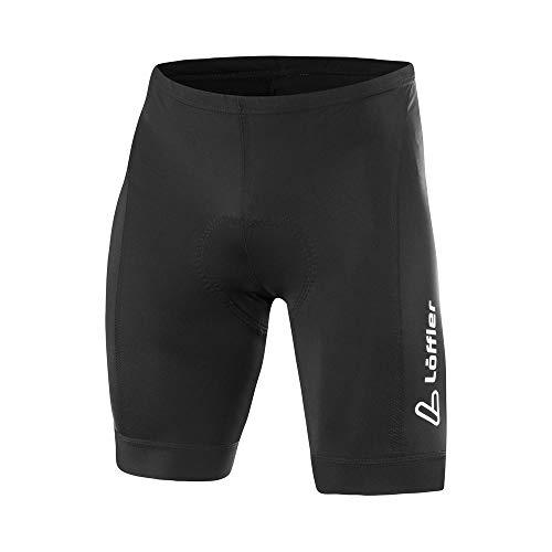 LÖFFLER Herren Bike Short Tights Hotbond® Fahrradhose schwarz 52