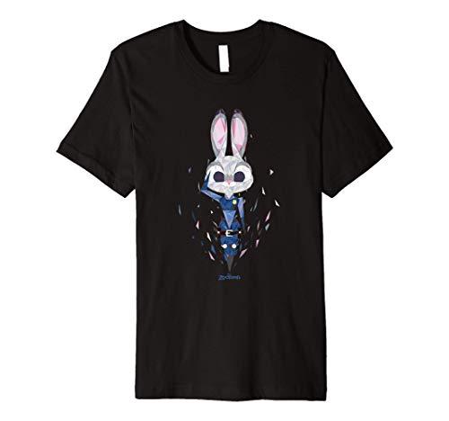 Disney Zootopia Officer Judy Hopps Geometric Premium T-Shirt