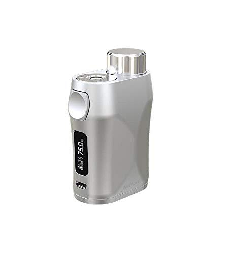 Eleaf iStick Pico X Box Mod para cigarrillo electrónico, 75 W, capacidad líquida, 2 ml, batería compatible 18650 (plata)