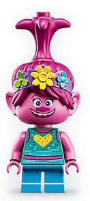 LEGO Trolls World Tour Poppy Minifigure da 41255 (Bagged)