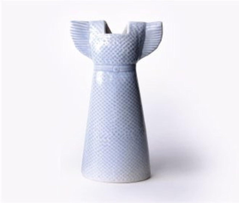 打倒レスリングトレーダーLisa Larson【ワードローブ ドレス】(花瓶)(水色)