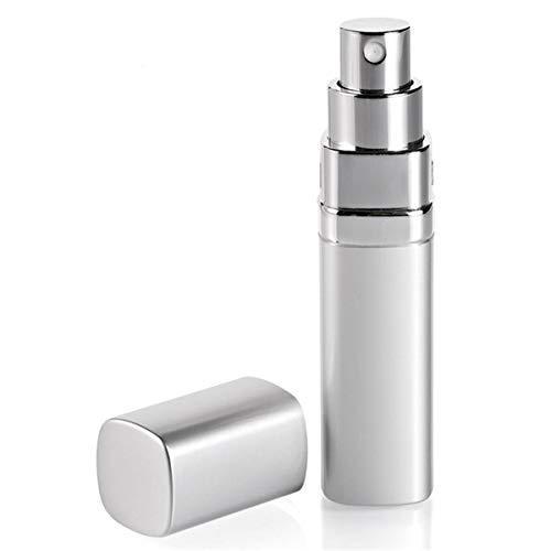 Vaporisateur de Parfum Carré Gris Métallisé - 15 ML