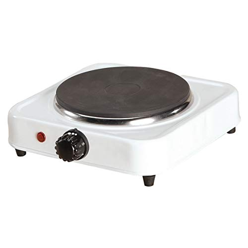 White Solid Single Top Hot Plate by Home Style Kitchen