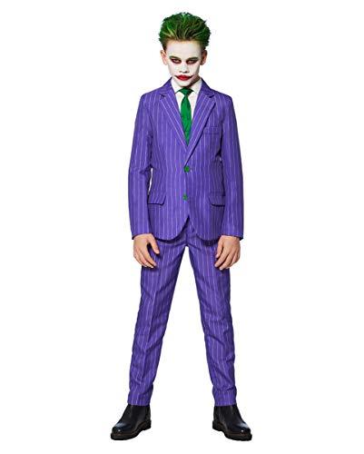 Horror-Shop The Joker Anzug für Kinder - Suitmeister für Fasching S