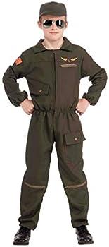 Forum Novelties Fighter Jet Pilot Child Costume Small
