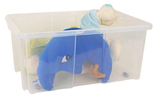 Prosper Plast Ncc24 60 x 40 x 26.5 cm Cargo Box Boîte à outils – Multicolore (12 pièces)