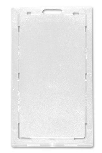 Clear Vertical Locking Plastic Card Holder by Specialist ID, Sold Individually