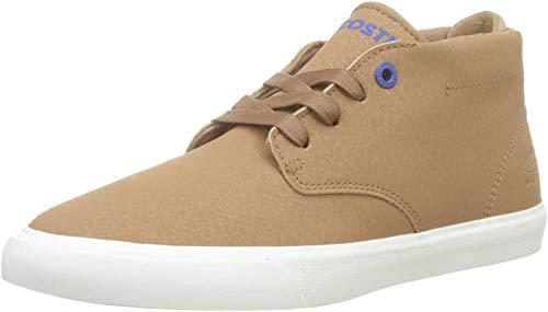 Lacoste Unisex-Kinder Esparre Chukka 319 1 Cuj Sneaker, Braun (Light Brown/Off White Bw7), 35 EU