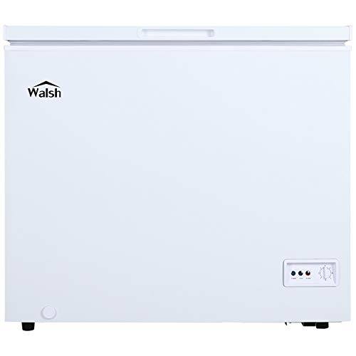 Walsh WSF70CWED01 Manual Defrost Chest Freezer, Mechanical Temperature Control, 7.0 Cu.Ft, White, 7 Cu Ft