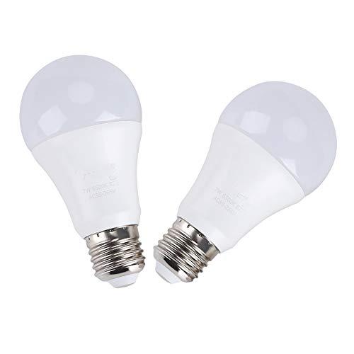 LED gloeilamp - schemering tot schemering gloeilamp, EECOO 7 W Smart Sensor LED gloeilampen, geïntegreerde fotosensor detectie met Au, 2st