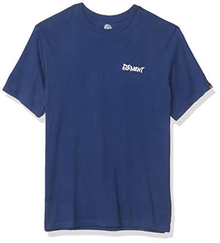 Element Herren Alcove Short Sleeve Tee T-Shirt, Blau-Blue Depths, X-Groß