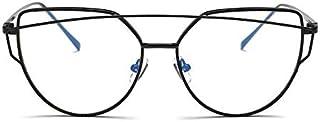 نظارات شمسية للنساء بتصميم عين القطة باطار اسود