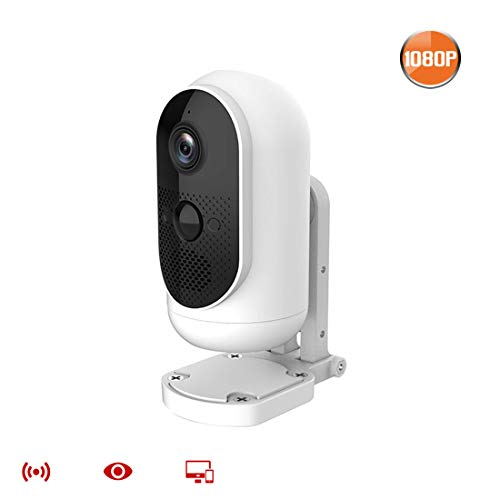Fantastic Prices! Indoor Security Camera, 1080P WiFi Home Camera Security with Motion Detection, IR Night Vision,2-Way Audio, SD Card Storage,2