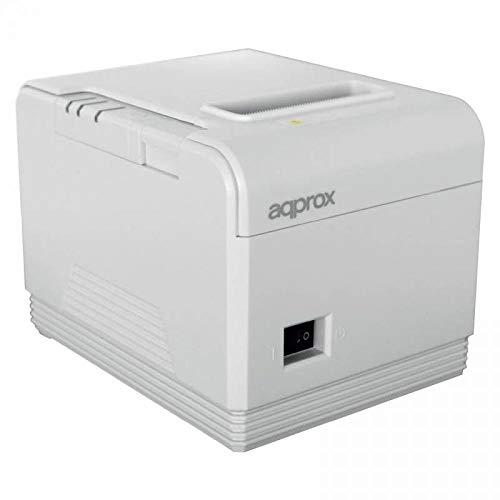 Approx-Tpv APPPOS80AM3WH - Impresora Térmica De Tickets, Blanco