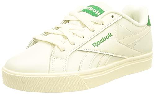 Reebok Royal COMPLETE3LOW, Zapatos de Tenis Unisex Adulto, Multicolor (Chalk/GOAGRN/Chalk), 43 EU
