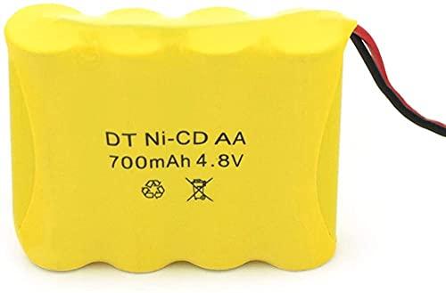 4.8V 700MahNi-CD De ControlRemotopara Instalación De Seguridad Paquete De Baterías AA De 4 Piezas-1 Pieza