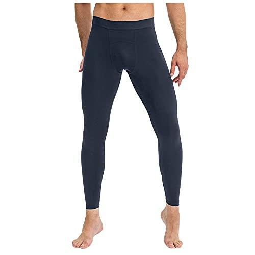Trailrest Mallas de compresión para Hombre de Secado rápido Mallas Running Hombre Bolsillo Leggings Hombre Gym Pantalones de compresión Hombre para Running Fitness Yoga Entrenamiento