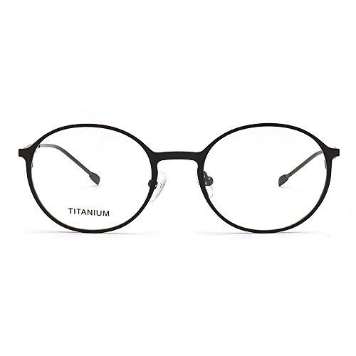 Bluelover Broadison Titanio Aleación Gafas Marco IP Vacío