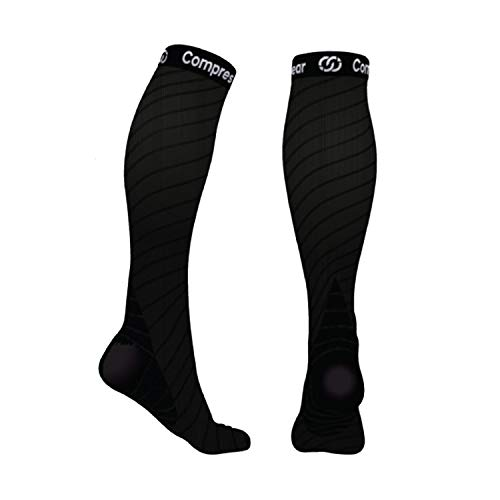 CompressionGear Sport Compression Socks - 20-30mmHg Workout Gear for...