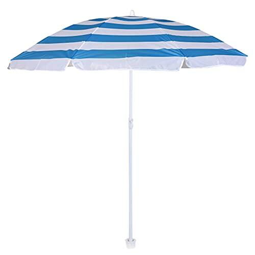 HoitoDeals Sombrilla de playa para jardín, zona de piscina, camping, exterior (1 unidad)