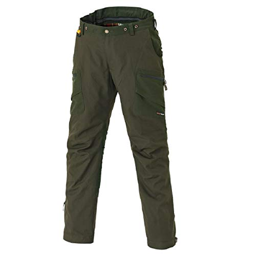 Pinewood Pantalon Hunter Pro Xtreme la Chasse, Moss Green/Hunting Green, Courte Tailles, Moss Green/Hunting Green