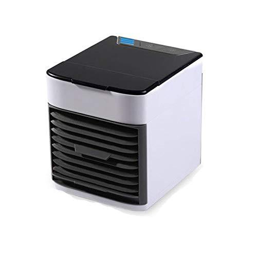 Ventilatore da scrivania di Yuxahiugfs, Super Mini condizionatore d'Aria Portatile Aria condizionata Air Cooler USB Ricaricabile umidificatore dell'Aria di Raffreddamento scrivania Ventilatore