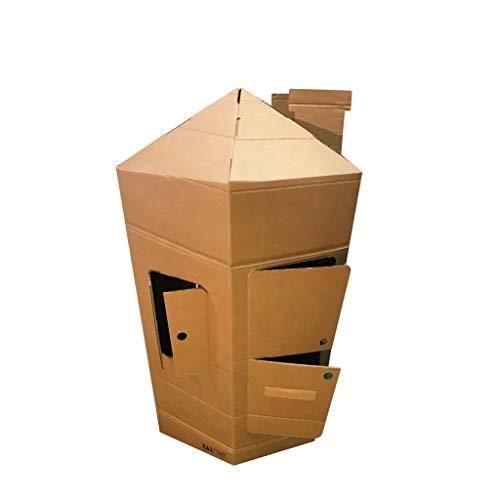 KarTent - Kartonnen Kinder Speeltoren - Speelhuisje - Duurzaam Karton