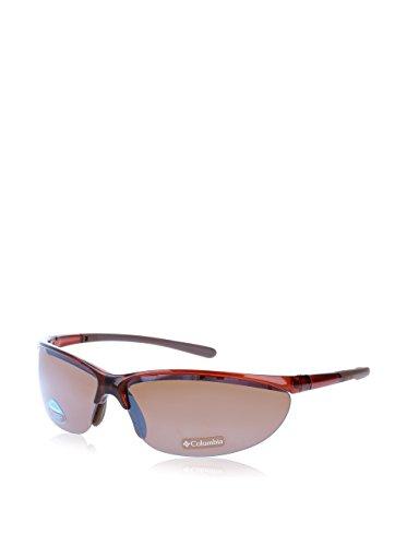 Columbia Sonnenbrille CBC602 (72 mm) ziegelrot/transparent