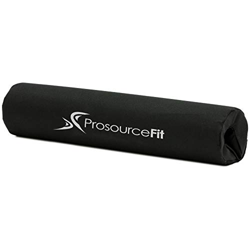 ProsourceFit Weight Lifting Barbell Bar Pad, Thick Protective Padding for Neck & Shoulders for Squats, Hip Thrusts, Lunges