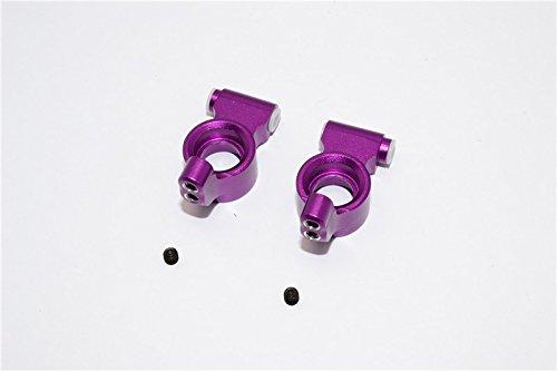 GPM HPI Sport 3 Flux Upgrade Pièces Aluminium Rear Knuckle Arm - 1Pr Purple