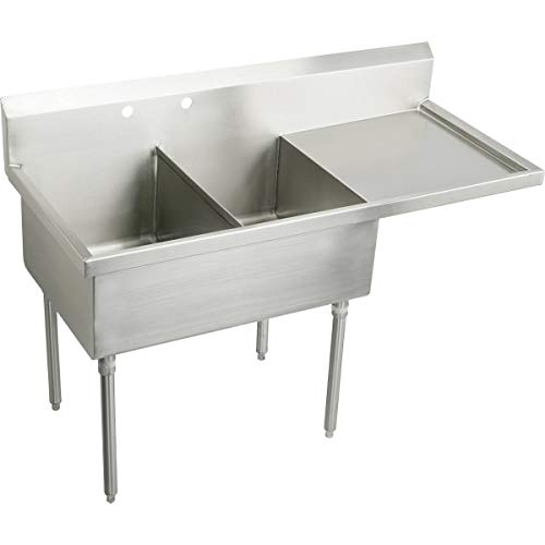 Fantastic Prices! Elkay WNSF8236ROF2 Commercial Sink Lustrous Satin Finish