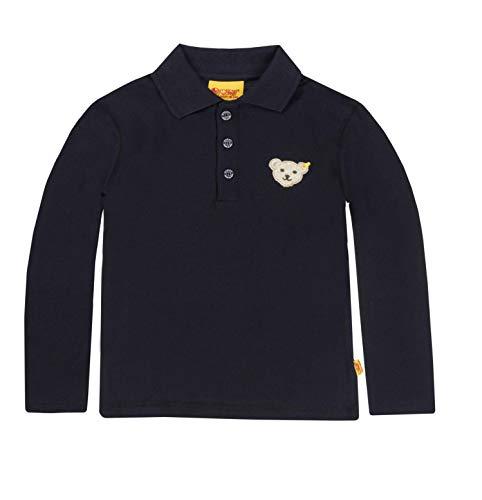 Steiff Poloshirt lg.Arm Größe: 122 Farbe: marine
