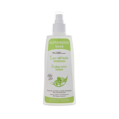 Alphanova - Agua de peinado refrescante