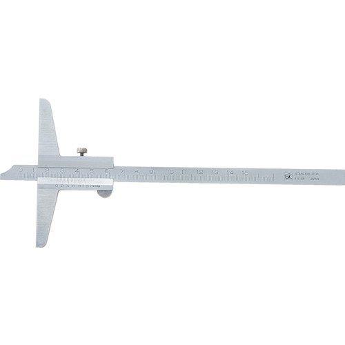 新潟精機 SK カルマデプスゲージ 150mm CDS-15 [8342]