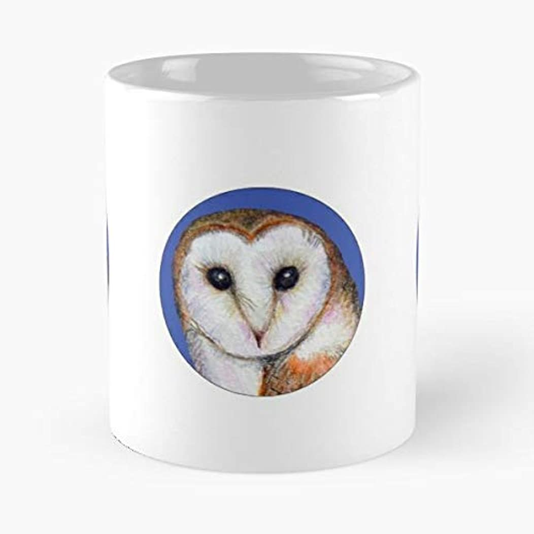 Barn Owl Snowy Screech White - 11 Oz Coffee Mugs Ceramic The Best Gift For Holidays, Item Use Daily
