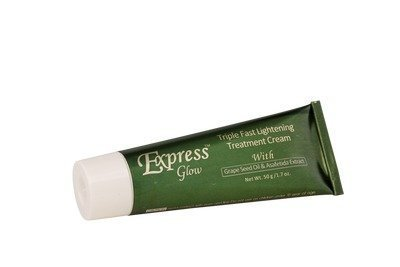 Express Glow Triple Fast Lightening Gel and Soap Combo with Grapeseed Oil by Express glow