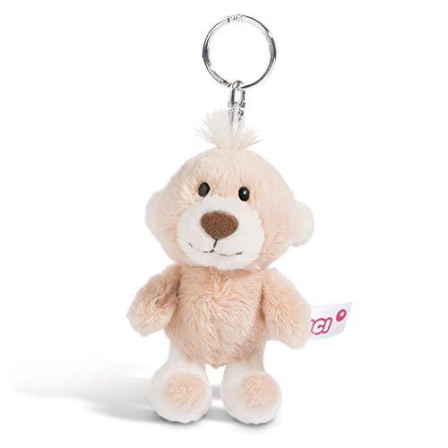 NICI Schlüsselanhänger Plüschtier Baby-Bär 10 cm – Teddy-Bär Kuscheltieranhänger mit Schlüsselring für Schlüsselband, Schlüsselbund, Schlüsselhalter & Schlüsselkette – Taschenanhänger – 44471