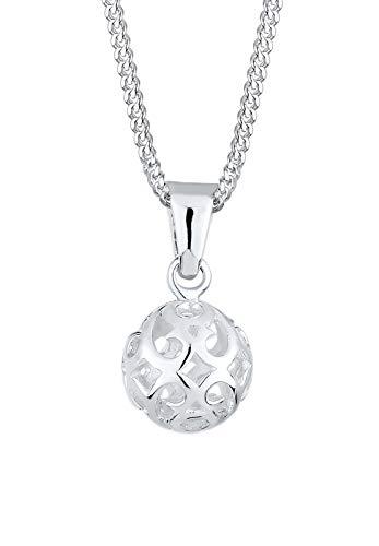 Elli Halskette Elli Damen Halskette Kugel Ornament Verspielt in 925 Sterling Silber