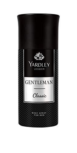 Yardley London Gentleman Classic Deo Body Spray for Men, 150ml