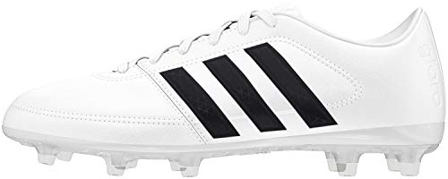 adidas Unisex-Erwachsene Gloro 16.1 FG Fußballschuhe, Weiß (Ftwr White/Core Black/Matte Silver), 38 EU