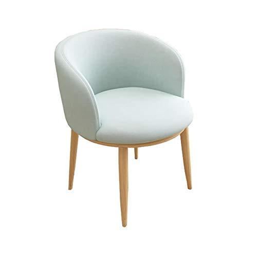 BOXIAO Silla de comedor con respaldo moderno, minimalista, para escritorio, para el hogar, balcón, etc.