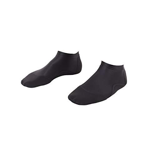 IST SKB Low Cut Water Socks for All Beach and Sand Activities (Black, 3XL)