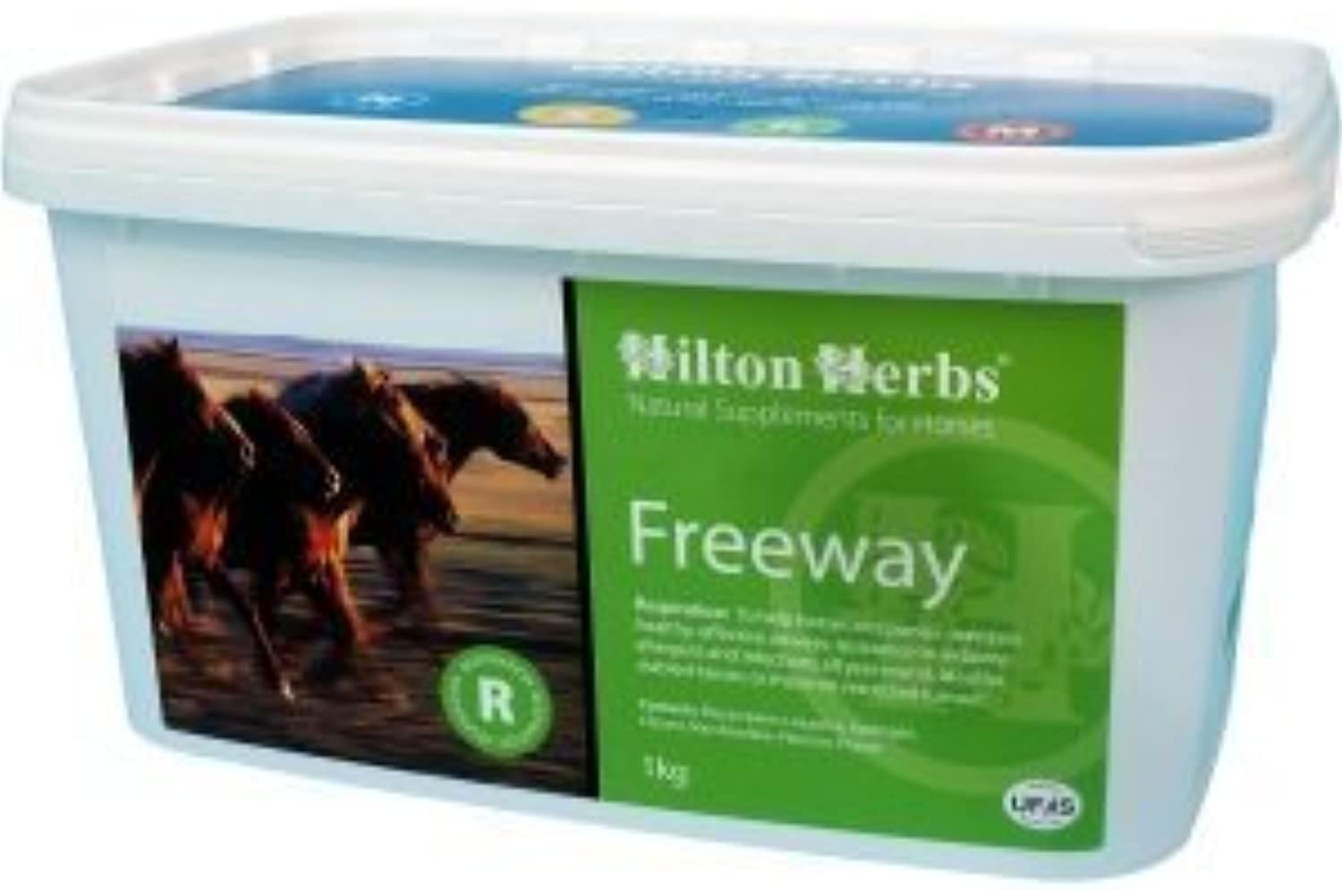 HILTON HERBS FREEWAY 2KG REFILL BAG HORSE SUPPLEMENT SUPPORTS HEALTH AND EFFICIENT AIRWAYS