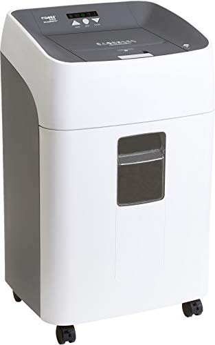Dahle ShredMATIC 35314 Auto-Feed Paper Shredder, 300 Sheet Locking bin, Oil-Free, Jam Protection, Security Level P-4, 3-5 Users