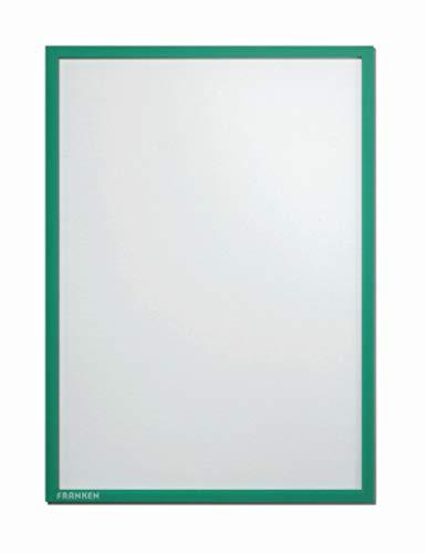 Preisvergleich Produktbild Franken ITSA5S 02 Dokumentenhalter DIN A5 (selbstklebend 0.32 mm) grün