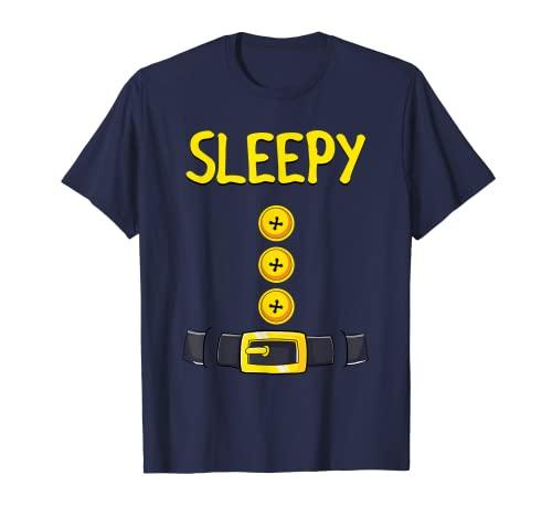 Disfraz de enano soñoliento de Halloween a juego con enano soñoliento Camiseta